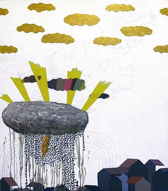 Bag regnbuen findes guldskyerne, 2005. Foto: Frodo Mikkelsen.