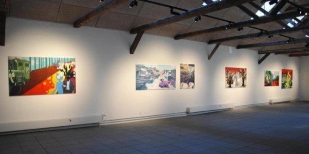 Udstillingsview fra Kunstpakhuset i Ikast. Foto: Bente Jensen.