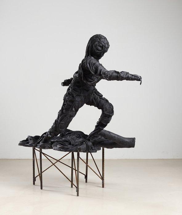 Fra udstillingen Bageri på galleriet Andersen's Contemporary, 2012. Pressefoto.
