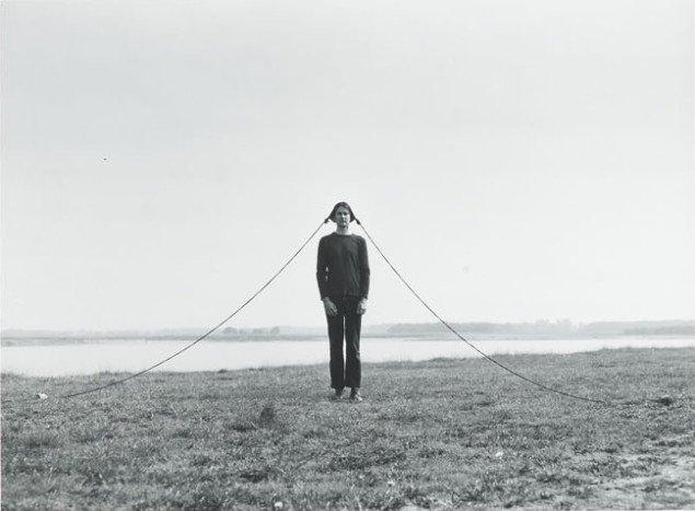 Sigurdur Gudmundsson: Landscape, 1977. Foto: Kunstmuseet i Tønder.