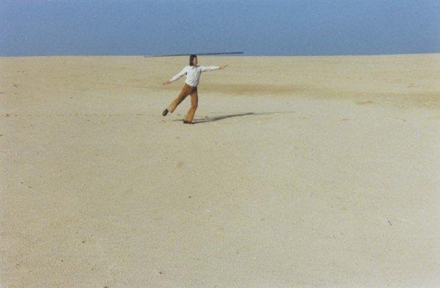 Sigurdur Gudmundsson: Dancing Horizon, 1977. Foto: Kunstmuseet i Tønder.