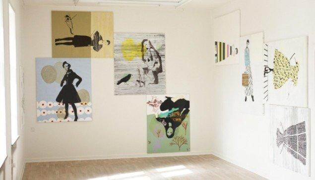 Maleri, Kunsthal Brænderigården, 2010-12. Foto: Jesper Palm.