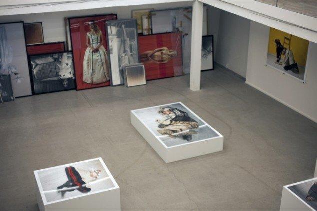 Observatøren, diverse fotoserier 1994-2012, Kunsthal Brænderigården. Foto: Mette Lucca Jensen.