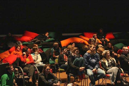 Auditorie ved Machine-RAUM. Foto: Knud Erik Serup