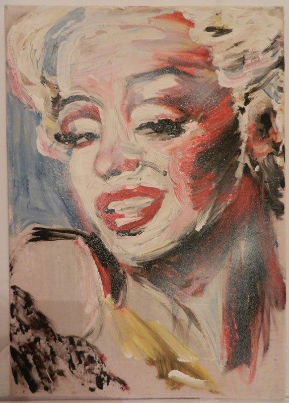 Elke Krystofek: Marilyn, 1991. (Pressefoto)