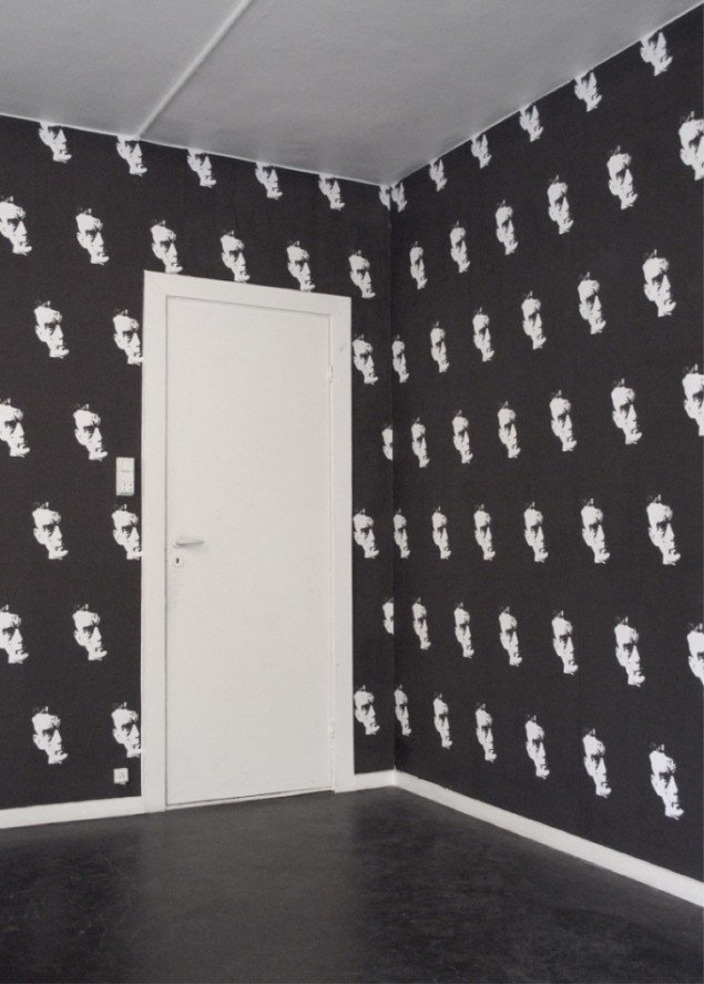Beckett Wallpaper, 2012. Tapet, varierende dimensioner. Pressefoto.