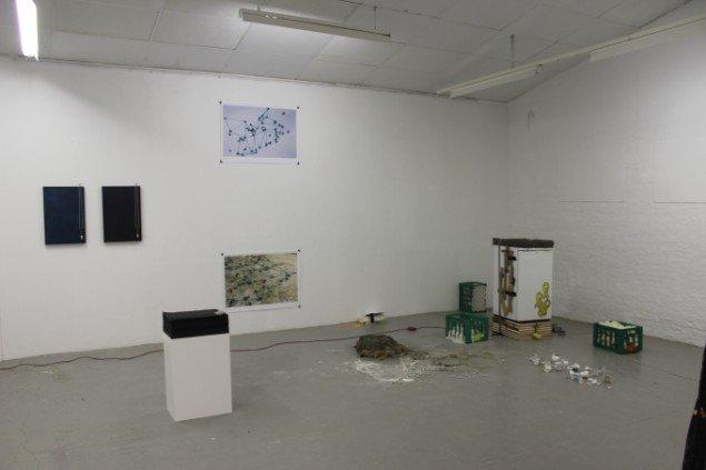 Installationsview: S. Hansen, Plesner, Danebod.