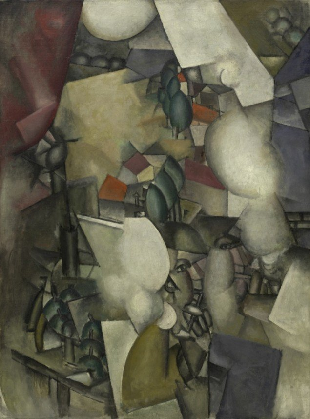 Fernand Léger: Les fumeurs, 1911-12, Solomon R. Guggenheim Museum. Pressefoto.
