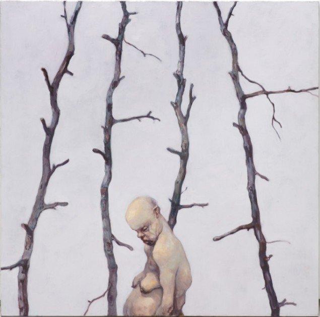 Dead End Painting, 2009, olie på lærred, 170 x 170 cm. Pressefoto.