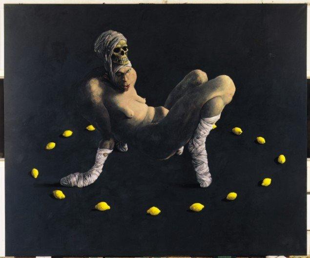 Naturkreds, 1992, 250 x 300 cm. Pressefoto.