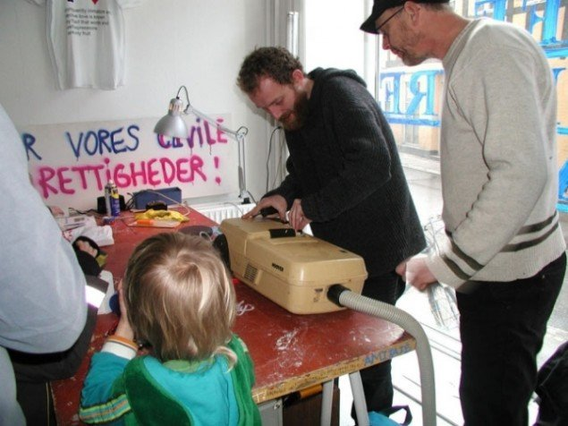 YNKB i rum46 fra én af deres reparationsworkshop. Foto Grete Aagaard.