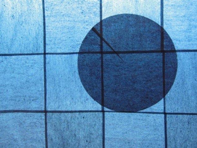 Matilde Duus: Ud af sammenhæng (detalje), 200 × 113 cm, silkepapir, 2012.