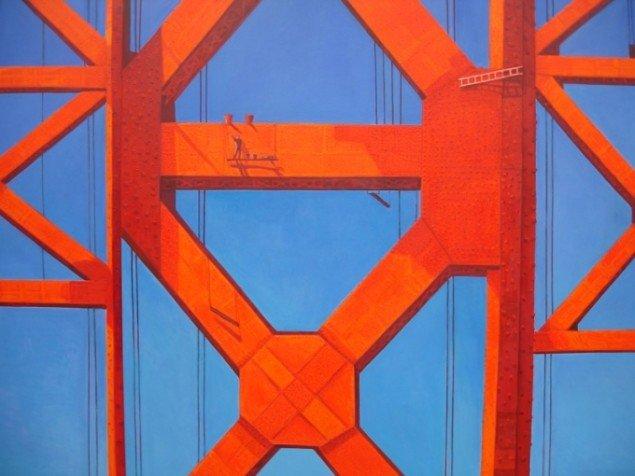 Søren Elgaard  Golden Gate Bridge (San Francisco) 2007. Foto: Søren Elgaard.