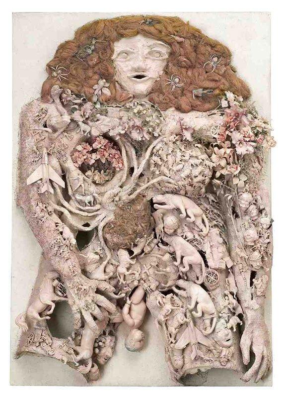 Den rosa födelsen, Niki de Saint Phalle, 1964, Foto: Presseofto. © Niki de Saint Phalle/BUS 2012