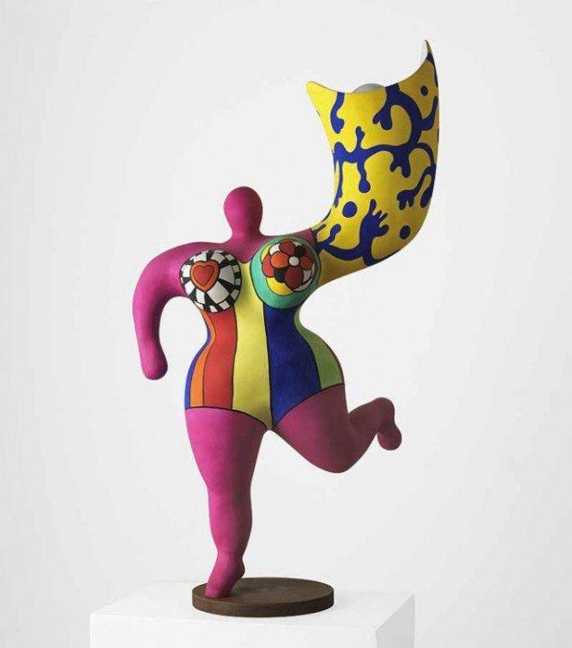 Änglaljus, Niki de Saint Phalle, u.å., Foto: Pressefoto. © Niki de Saint Phalle/BUS 2012