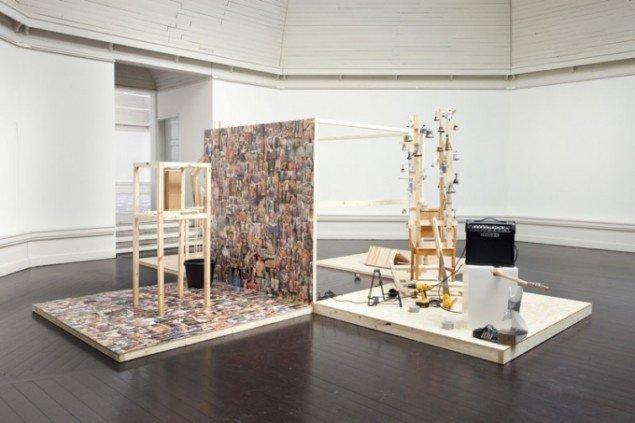 Heine Kjærgaard Klausen, Installationsview (Foto: Erling Lykke Jeppesen)