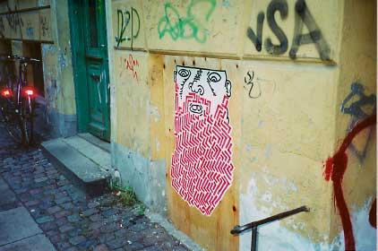 Grow a beard. 2001. Foto: HuskMitNavn.