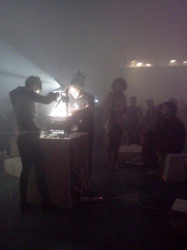 Fra Nuja release party 1 juni på Institut X, Godsbanen.