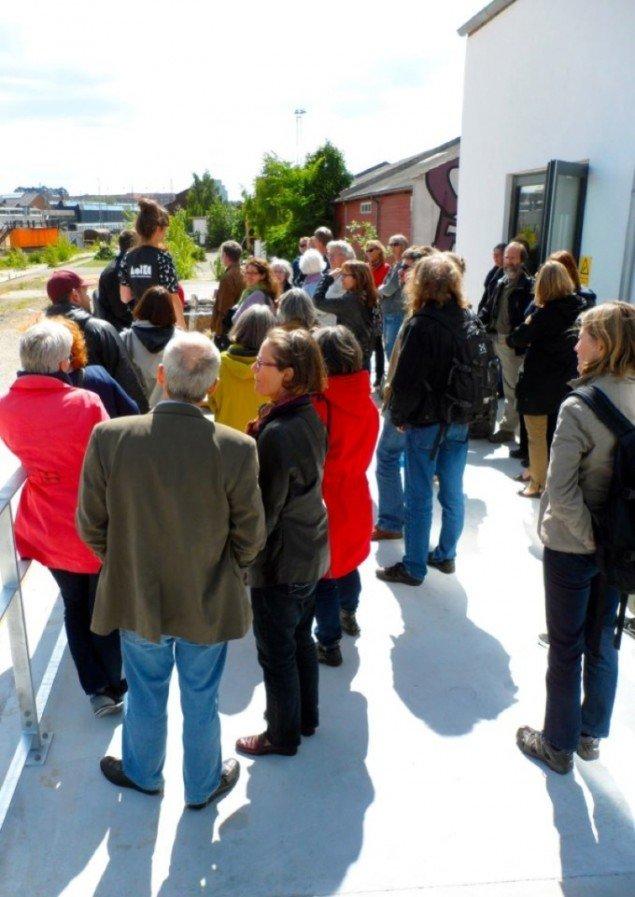 Århus Billedkunstcenter inviterede på en guidet tur.
