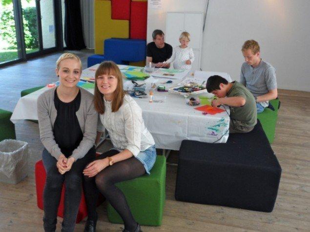 Fra børneværkstedet Blikfang , Århus Kunstbygning.