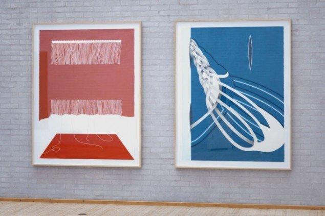Lazy og Echo II Lisbeth Eugenie Christensen. Foto: Himmerlands Kunstmuseum.