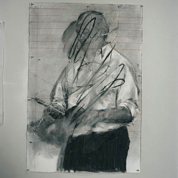 William Kentridge: Fra Invisible Mending, 2003. Foto: Malmö Konsthall.