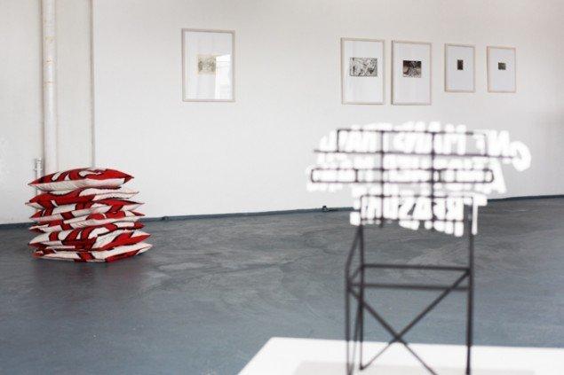 Installationsview, Hugo Hopping, 2012. Foto: 68m2.