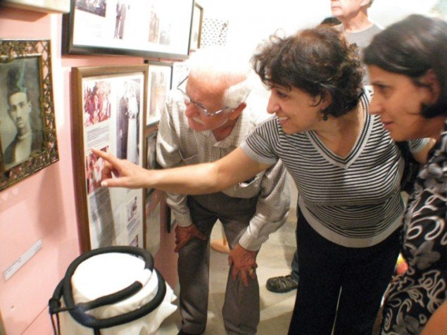 De lokale møder deres egen historie på museet. (Foto: YNKB)
