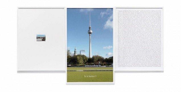 Sophie Calle, Is it better, 2012. Venligst udlånt af kunstneren og ARNDT, Berlin.