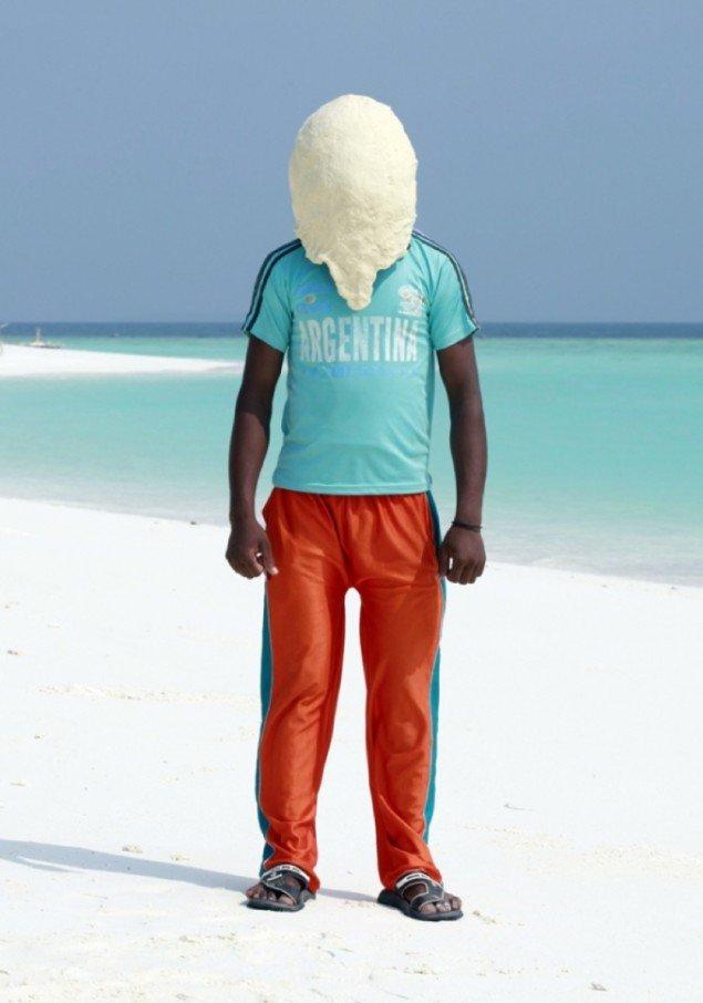 Søren Dahlgaard Dejportræt, Maldiverne (2011). Pressefoto.