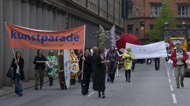 Kunstparaden. (Pressefoto)