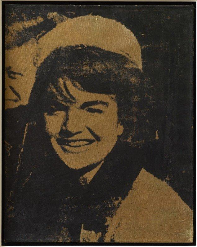 Andy Warhol Jacqueline Kennedy I (Jackie I), 1964. Pressefoto.