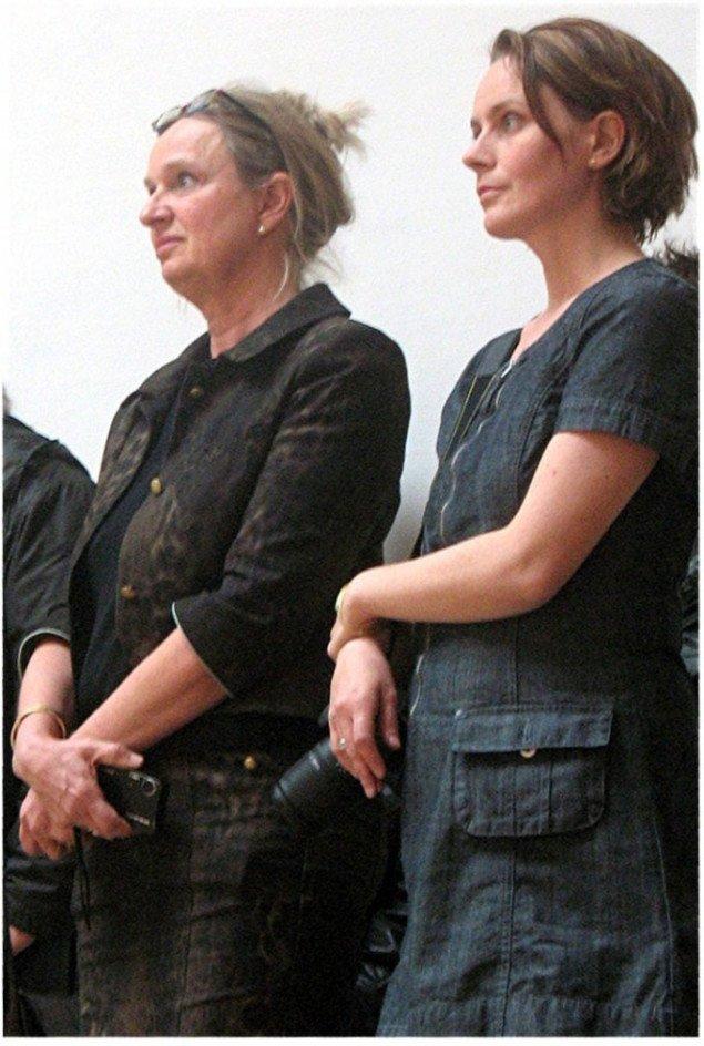 Iben Kofod og Carina Jo Sivager. Foto: Lars Svanholm.