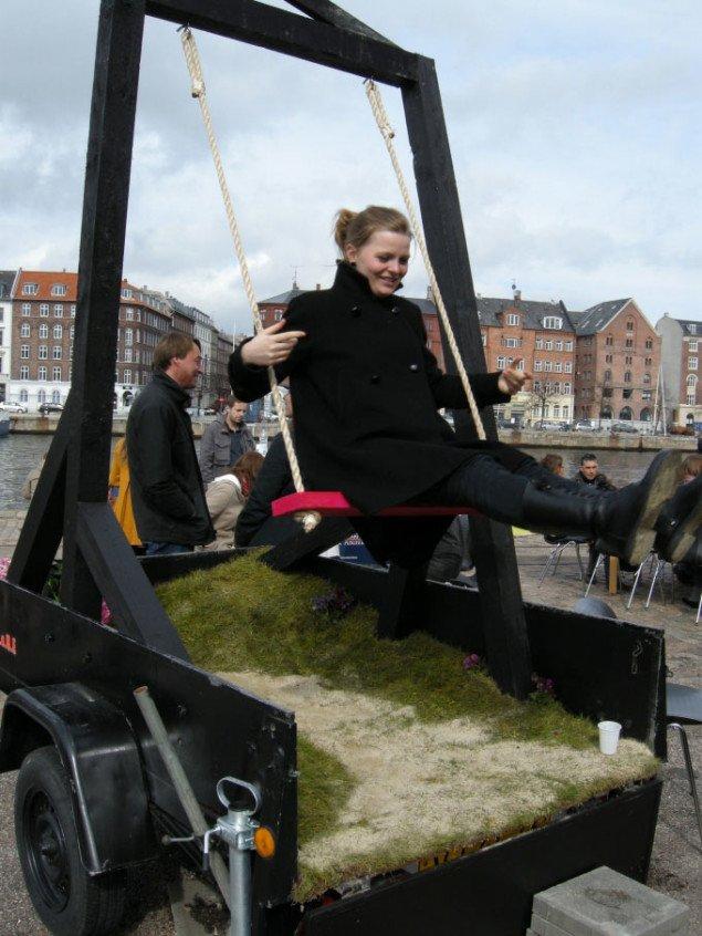 Gynge, foto: Line Møller Lauritsen