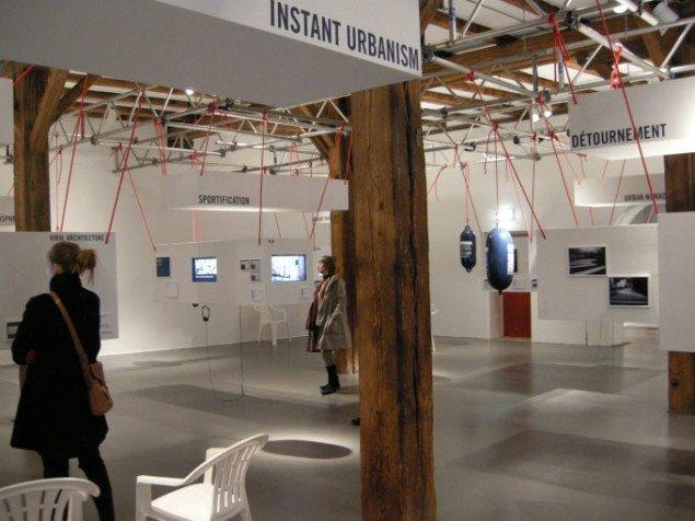 Udstillingsview fra 'Instant Urbanism', foto: Line Møller Lauritsen