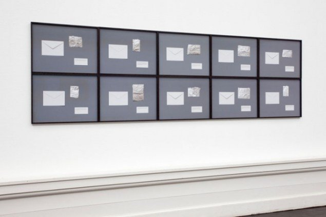 Troels Sandegaard og Ebbe Stub Wittrup, Ten sealed images, 2012. Foto:Erilng Lykke-Jeppesen.