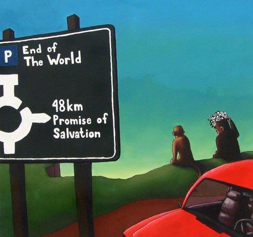 Der er ikke langt til frelsen, når man først er nået til verdens ende. Foto: Thomas Møller Larsen
