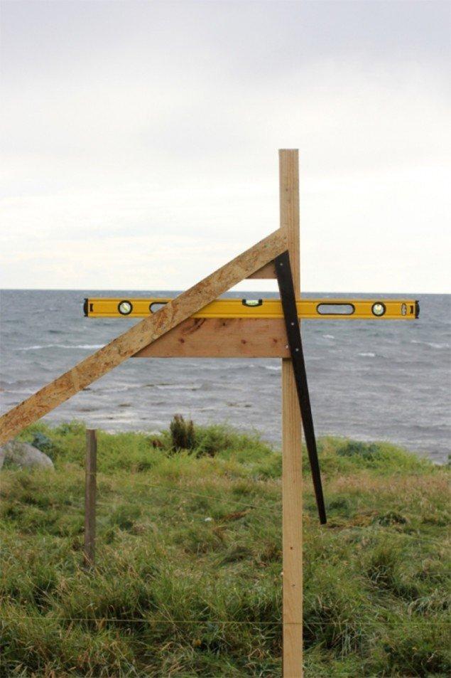 Installation af Jakob Bue og Kasper Sørensen. Foto: Jakob Bue.