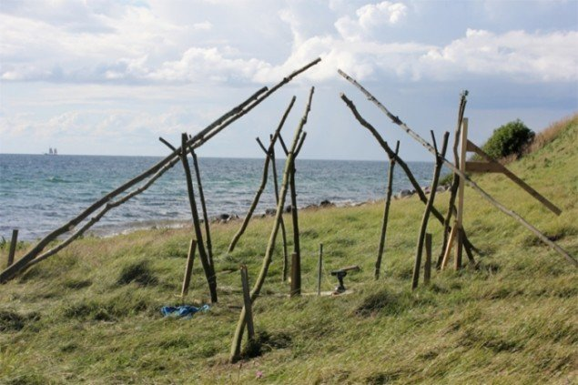 Installation af Jakob Bue og Kasper Sørensen. Foto: Nina Wöhlk.