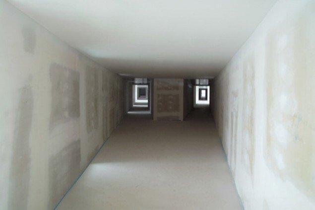 Y-korridor, 2008, (lambdaprint – fra serien Heimlich). Pressefoto.