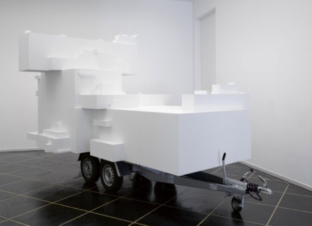 Trailerarkitekton, 2007-08, 300 x 250 x 500 cm. Pressefoto.