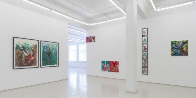 Installationsview, Jonas Hvid Søndergaard, Zero Point, Lars Olsen Gallery. (Foto: Anders Sune Berg)