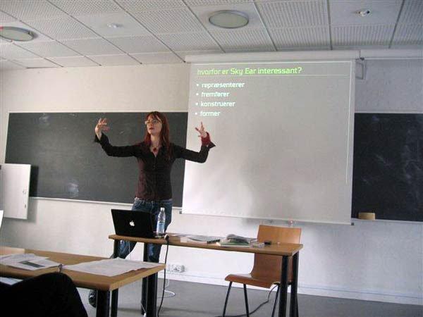 Ph.d.stip. Lone Koefoed Hansen. Foto: Søren Pold.