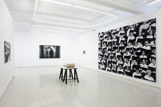 Installationsview, Andreas Poppelier. (Foto: Erling Lykke Jeppesen)