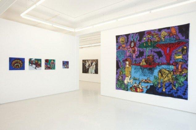 Installationsview, Fredrik Lindqvist. (Foto: Erling Lykke Jeppesen)