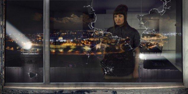 Nation Estate – Window, C-print, 60x120cm, Larissa Sansour, 2012. Pressefoto.