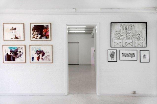 Nanna Riis Andersen ( til venstre) & Nour Fog (til højre). Foto: Charlotte Fogh Gallery.