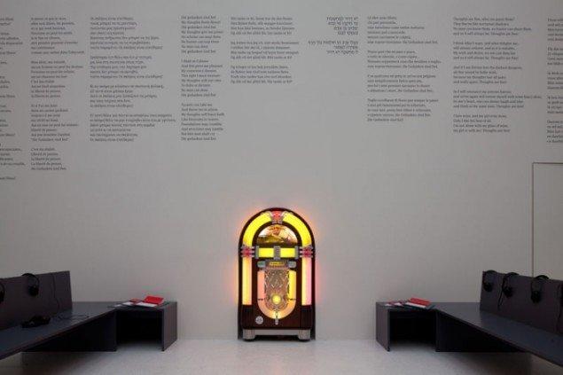 Susan Hiller, Die Gedanken sind frei: 100 songs for the 100 days of dOCUMENTA (13), 2011–12. (Foto: Anders Sune Berg)