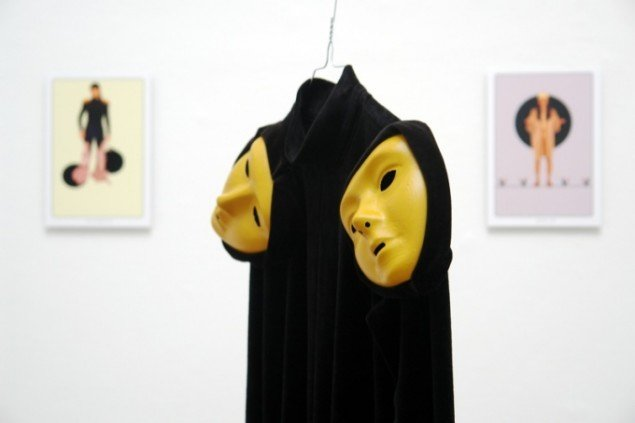 Fra Trine Mee Sook Gleerups udstilling The Fool, a Nomadic Journey in Tarot and Life på Århus Kunstbygning. Pressefoto.