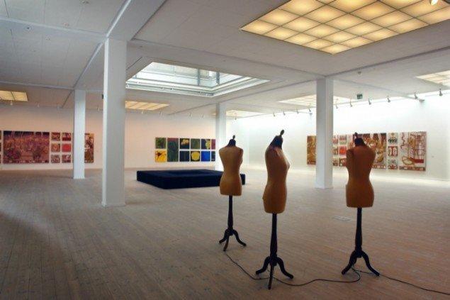 Udstillingsview fra Rannvá Holm Mortensens soloudstilling på Århus Kunstbygning. Foto: Jens Møller Sørensen.